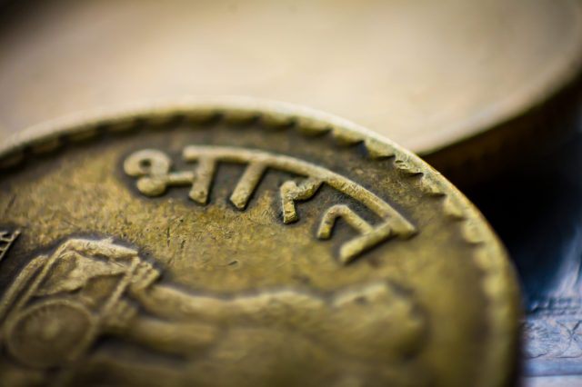 Coin of Indian Rupee
