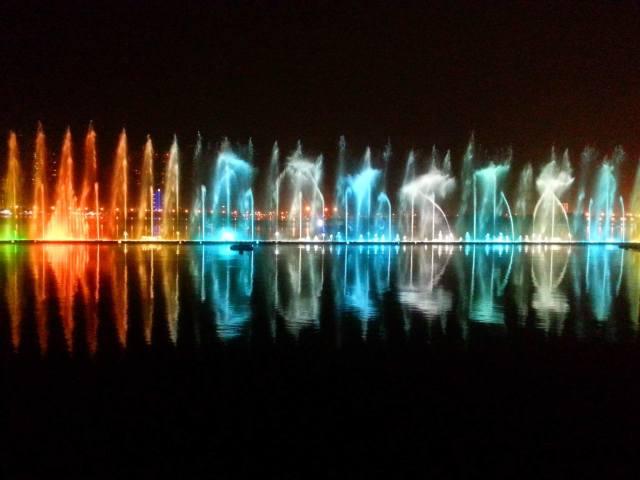 Dancing Fountains, Sharjah
