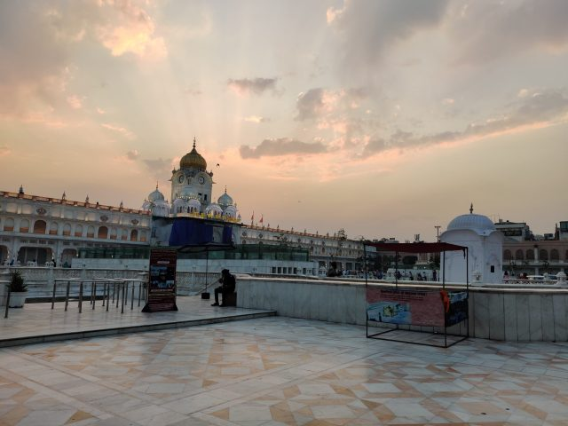 View of Golden Temple's Entrance