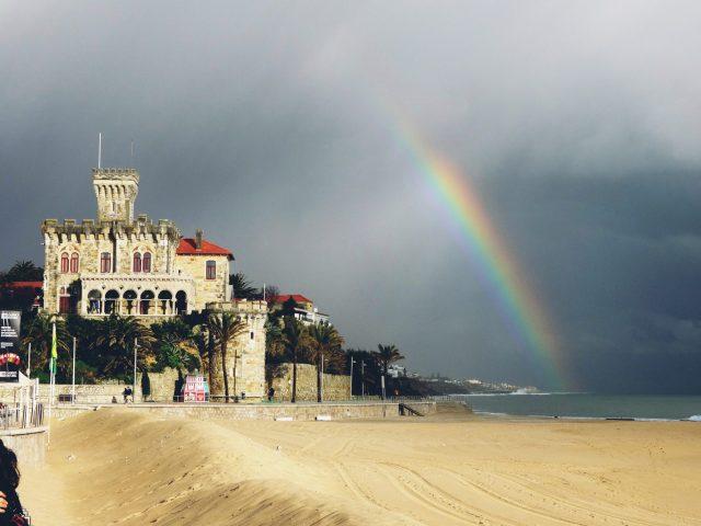 Estoril Beach in Portugal