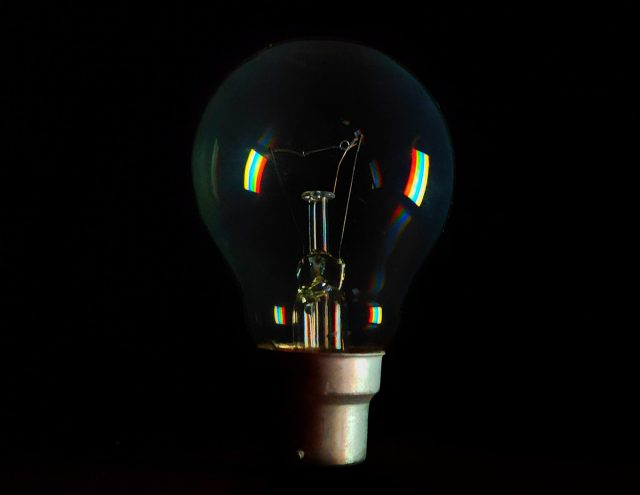 Sparkling Electric Bulb