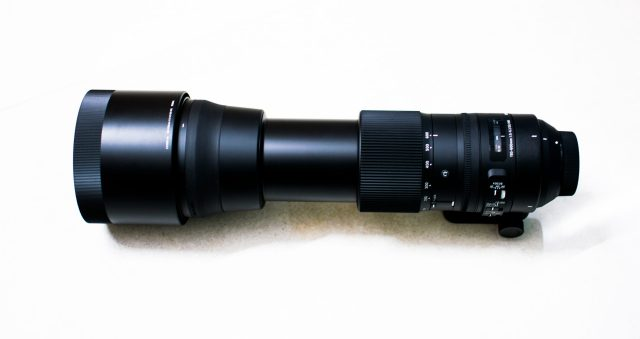 Hyper-telephoto lens
