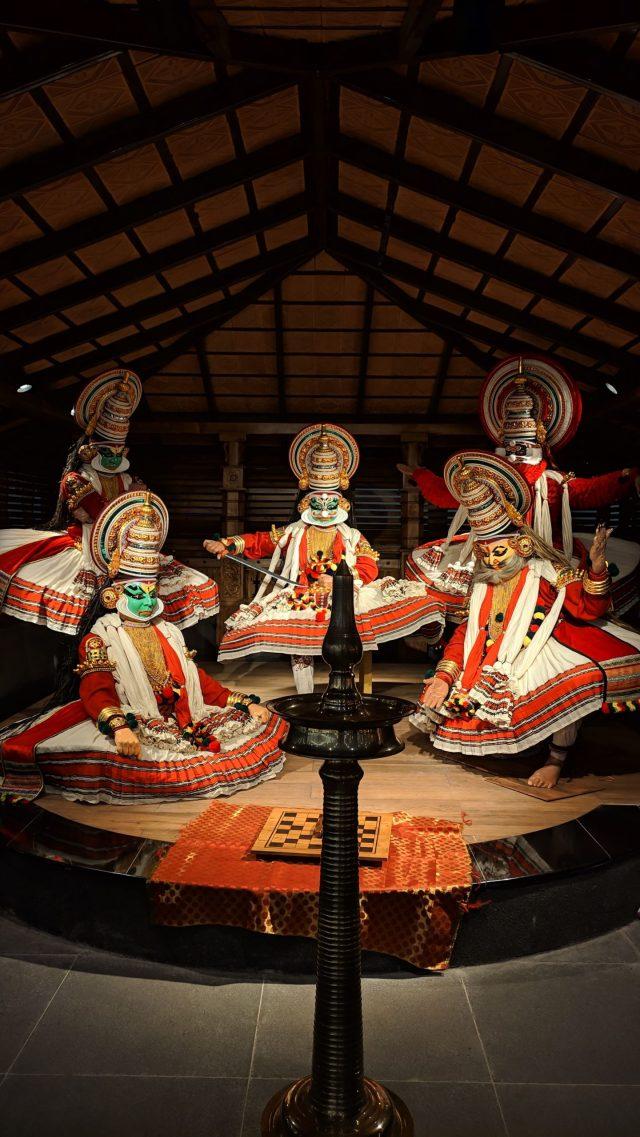 Kathakali dance costumes