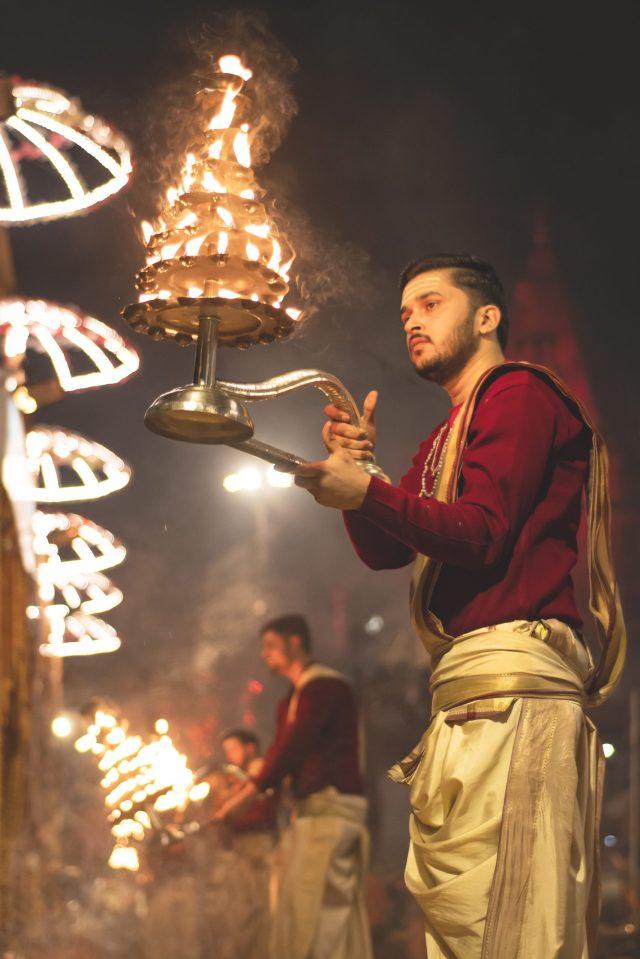 Maha Aarti in Banaras