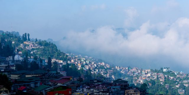 Misty Morning in hill stations