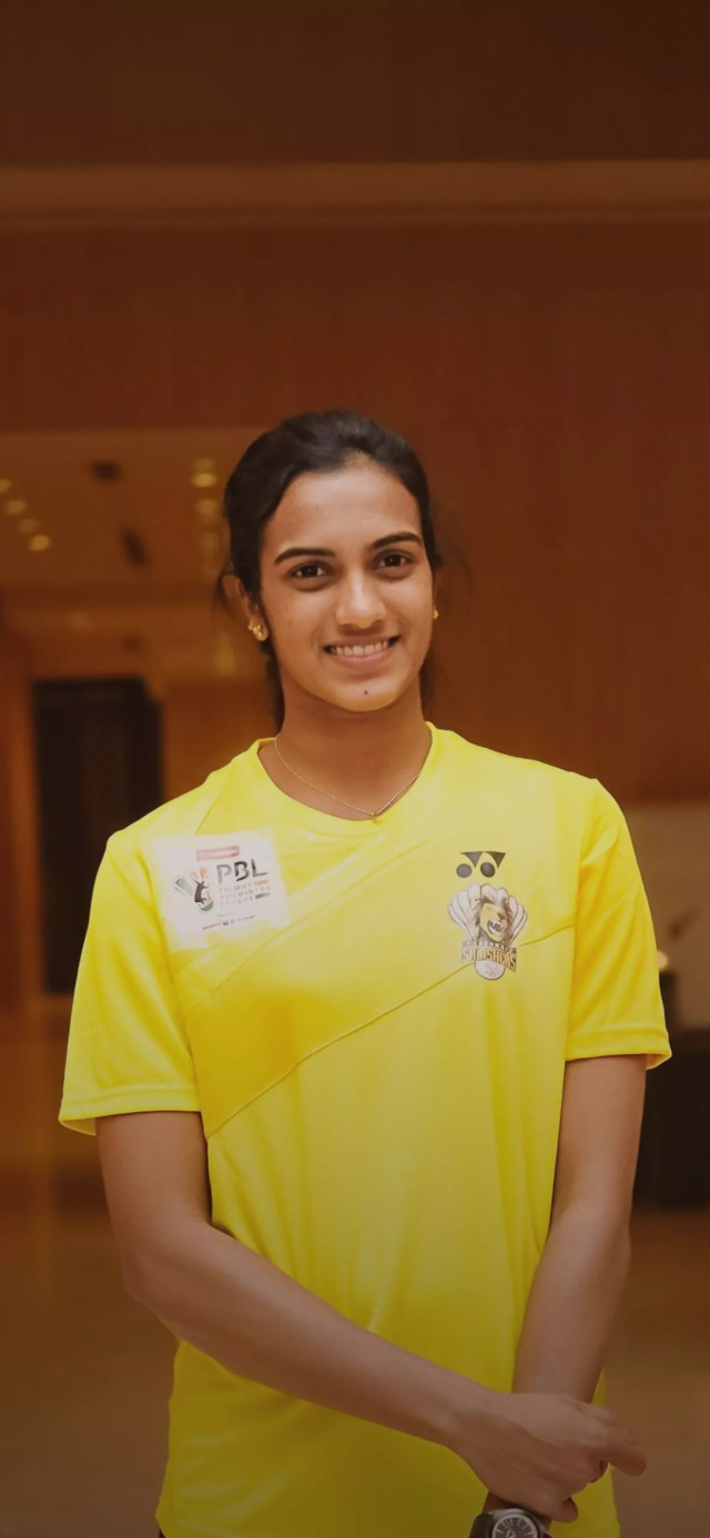 P.V. Sindhu Badminton Player