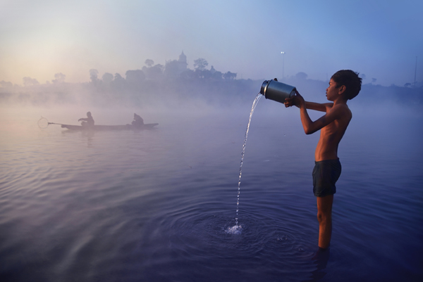 Narmada river Madhya Pradesh