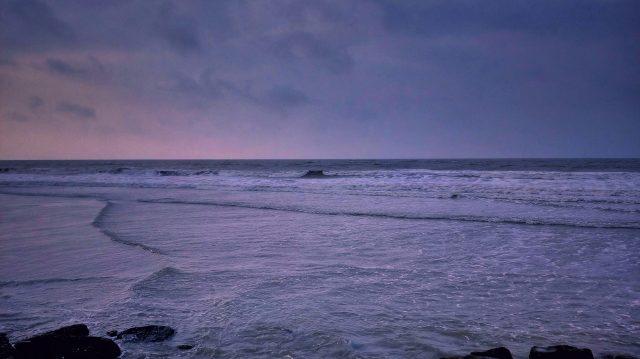 Vastness of the sea