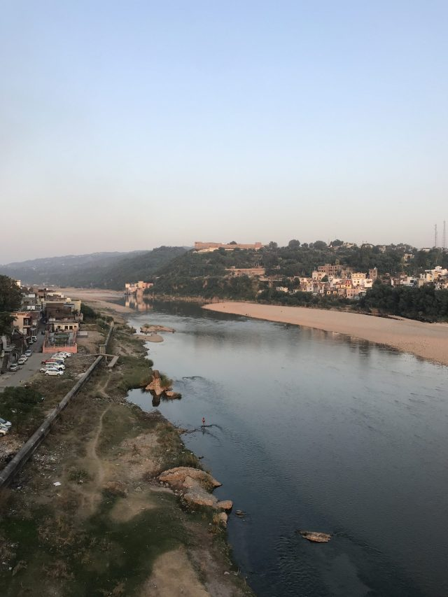 A beautiful view of Tawi river