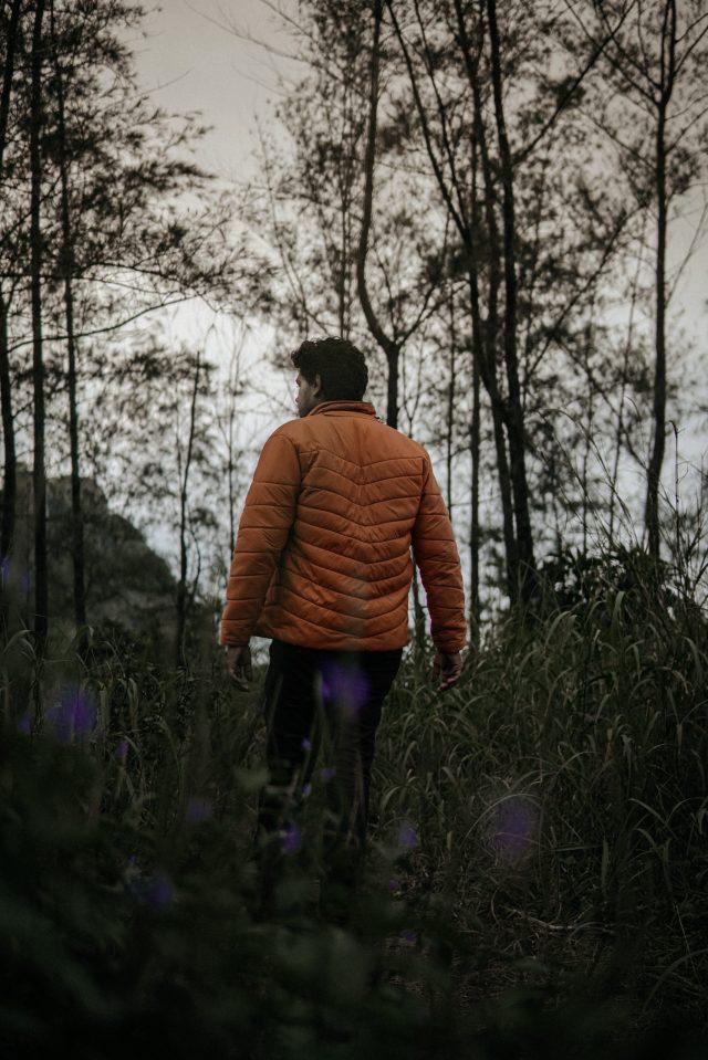 A boy in Jungle