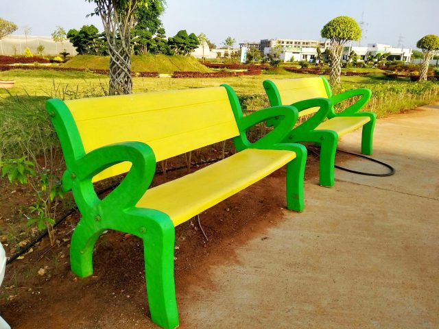 Chairs in Park