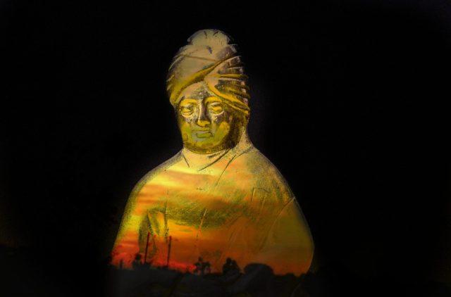 Swami Vivekananda stature