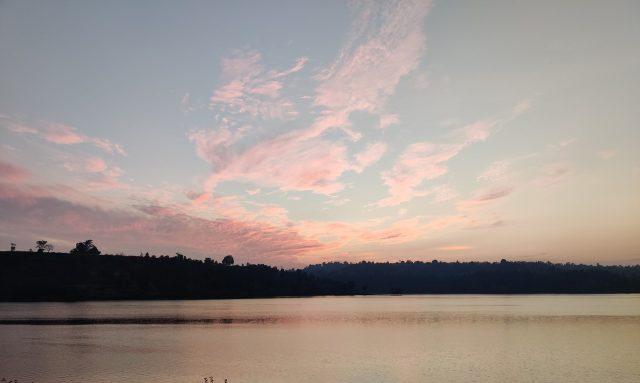 A lake during morning