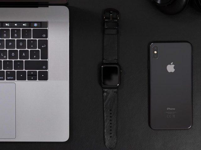 mobile, watch, laptop