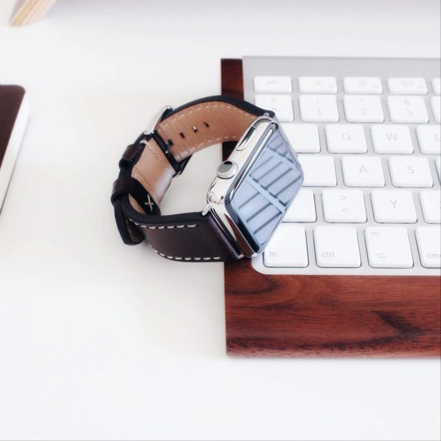 watch and keyboard
