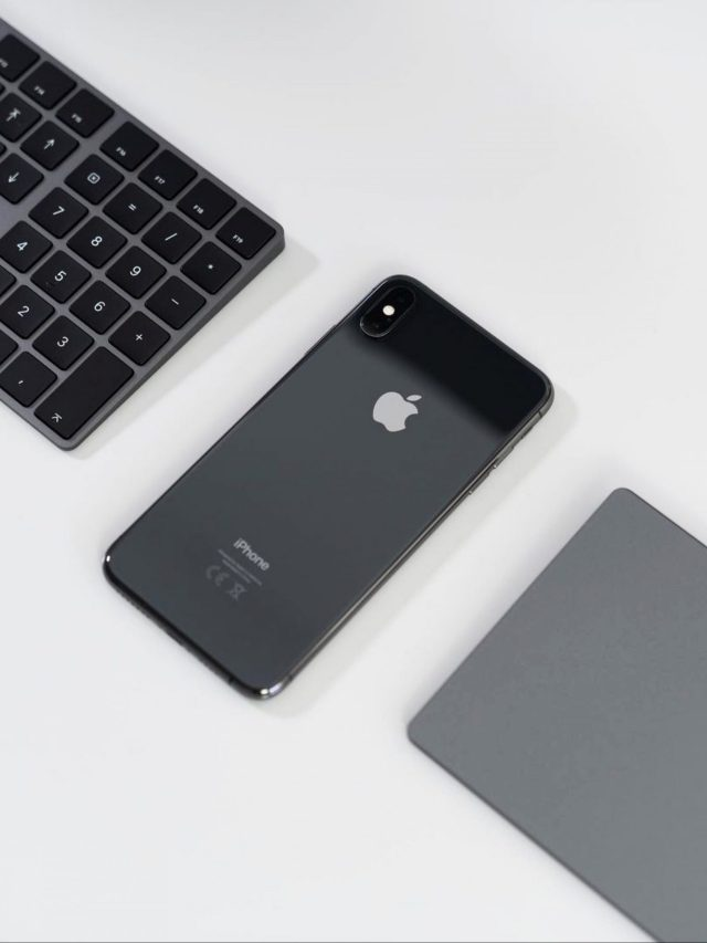 mobile and keyboard