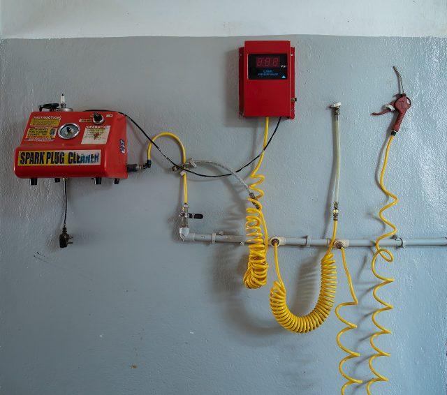 Mechanical tools setup