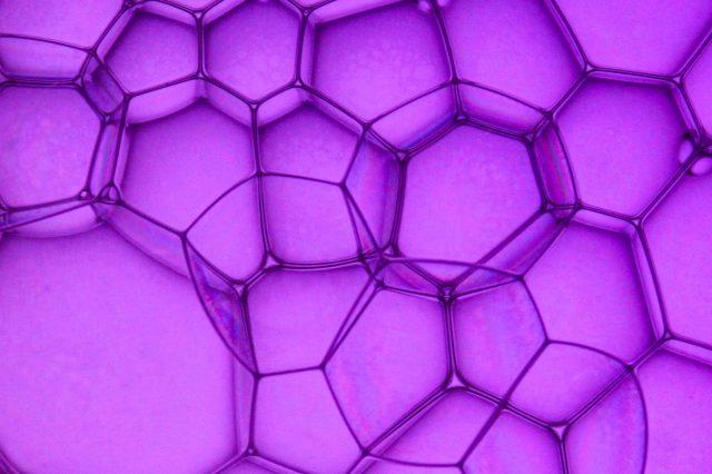 Soap bubbles pattern