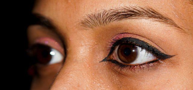 A girl's eyes