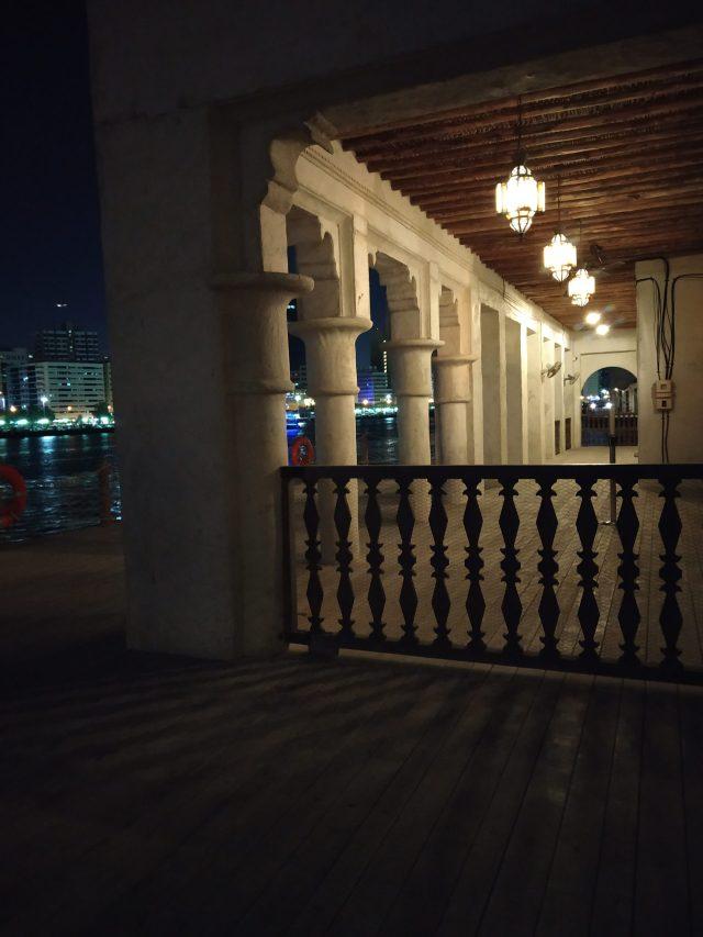 Lighting of a restaurant in Dubai