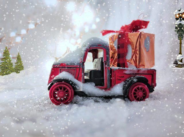 Christmas creative photography