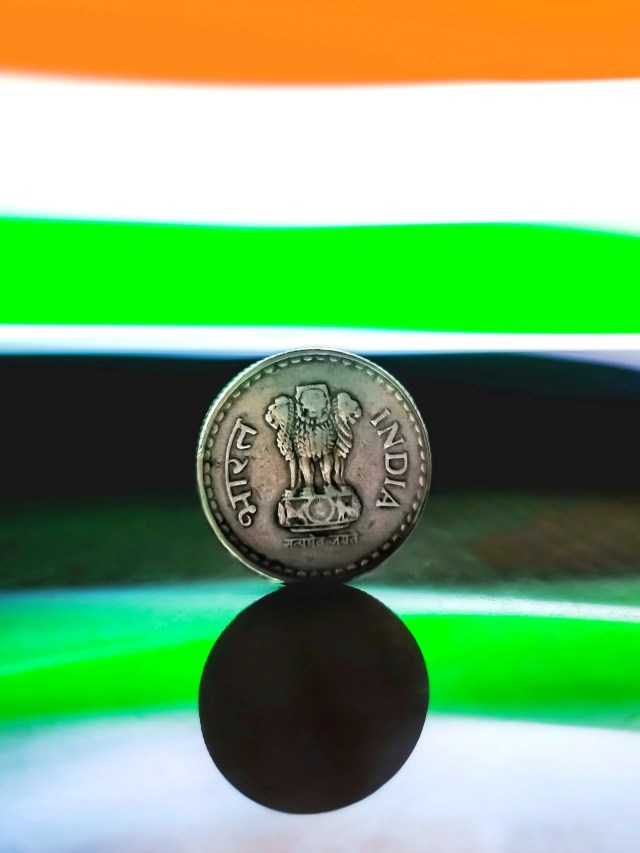 Indian money coin