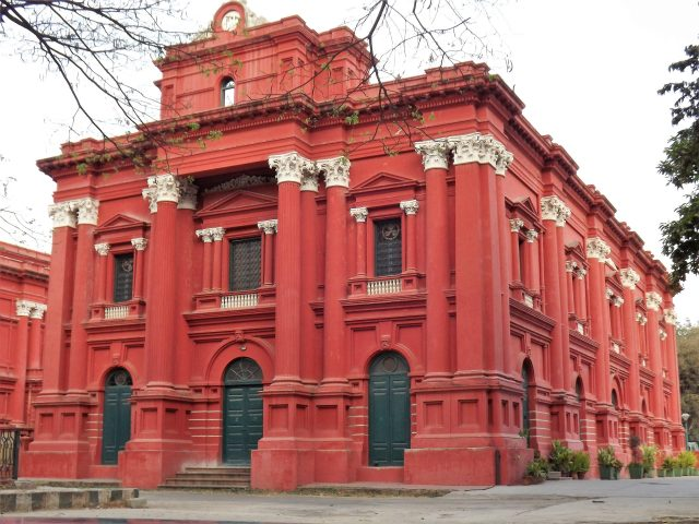 Government museum building in Bangalore