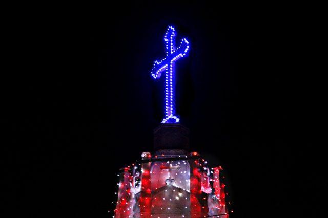 Church night view