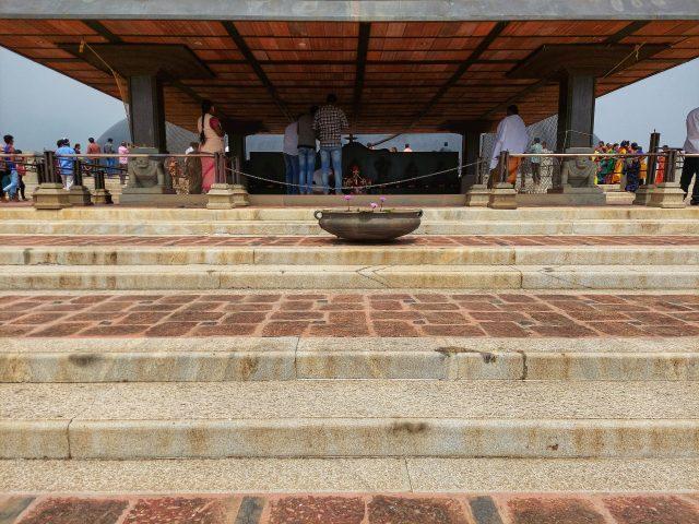 People worshiping in Temple