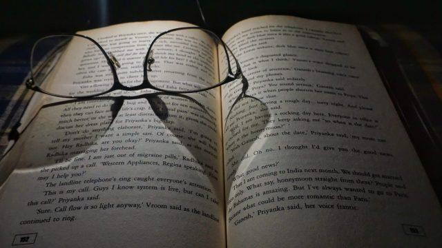 Specs on book