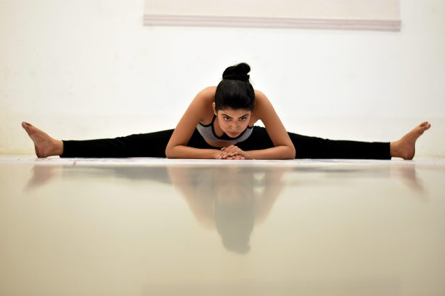 Yoga - Full Leg Split