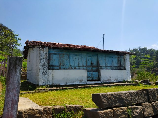 An old house at a hill station