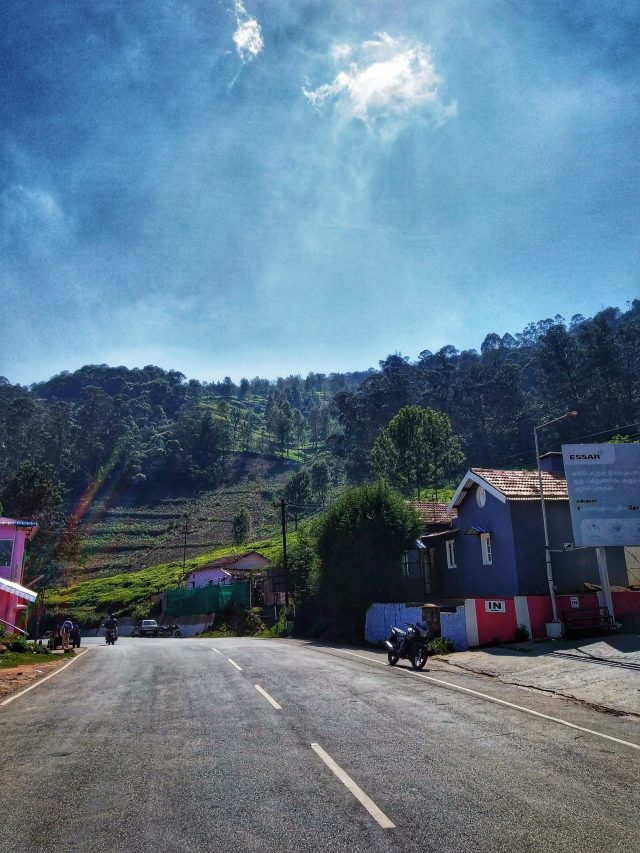 Hill station road