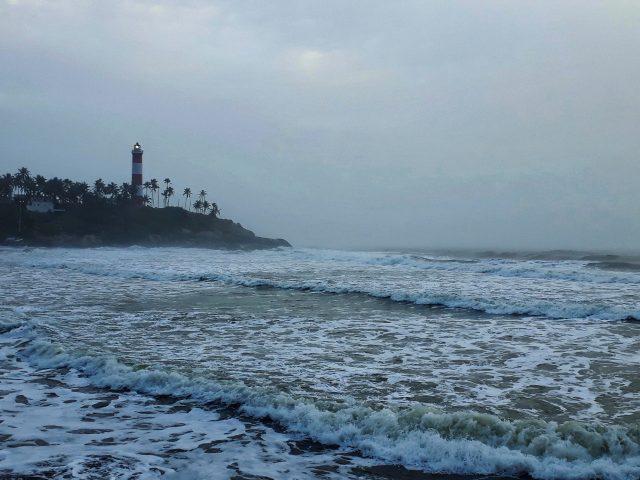 Light tower near the Sea