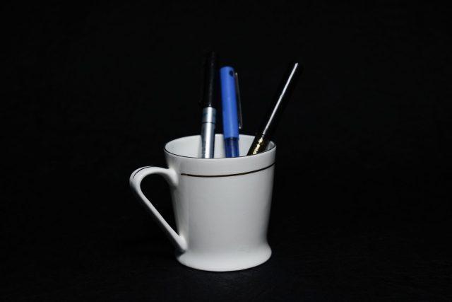 Pen in Tea Cup