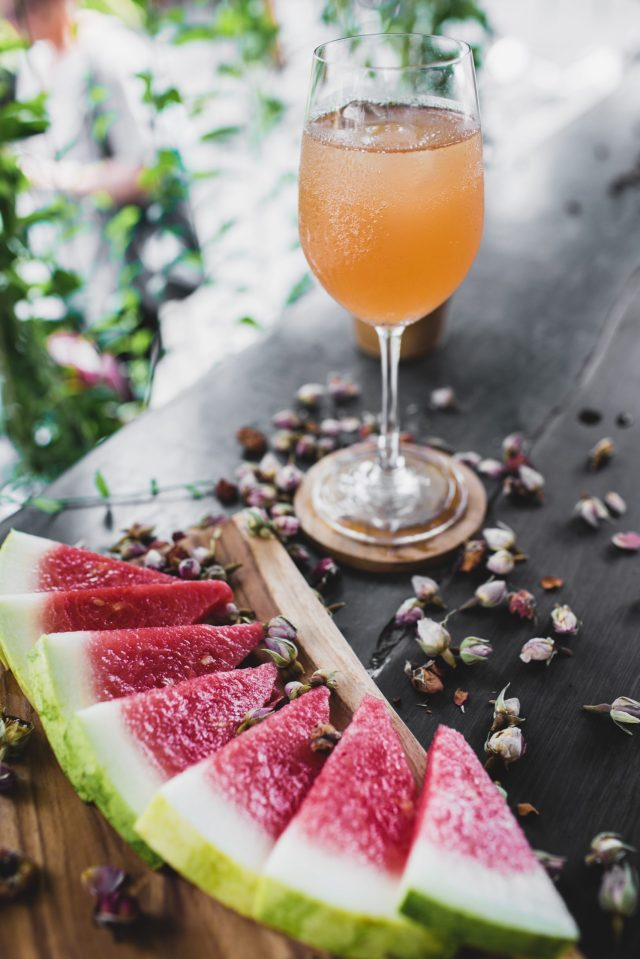 Watermelon Juice in the glass