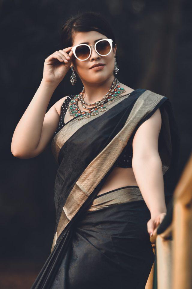 A stylish woman