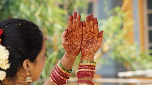 Wedding photo shoot of a bride