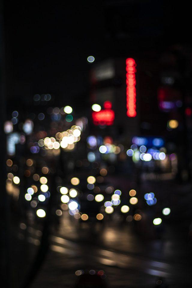 Blur light effect