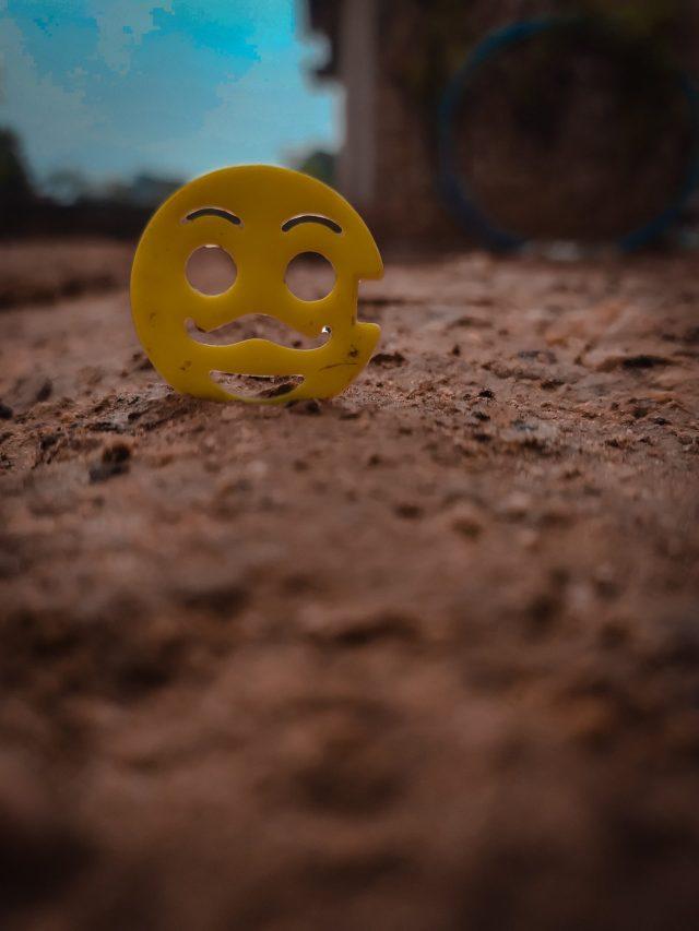 Emoji on the ground