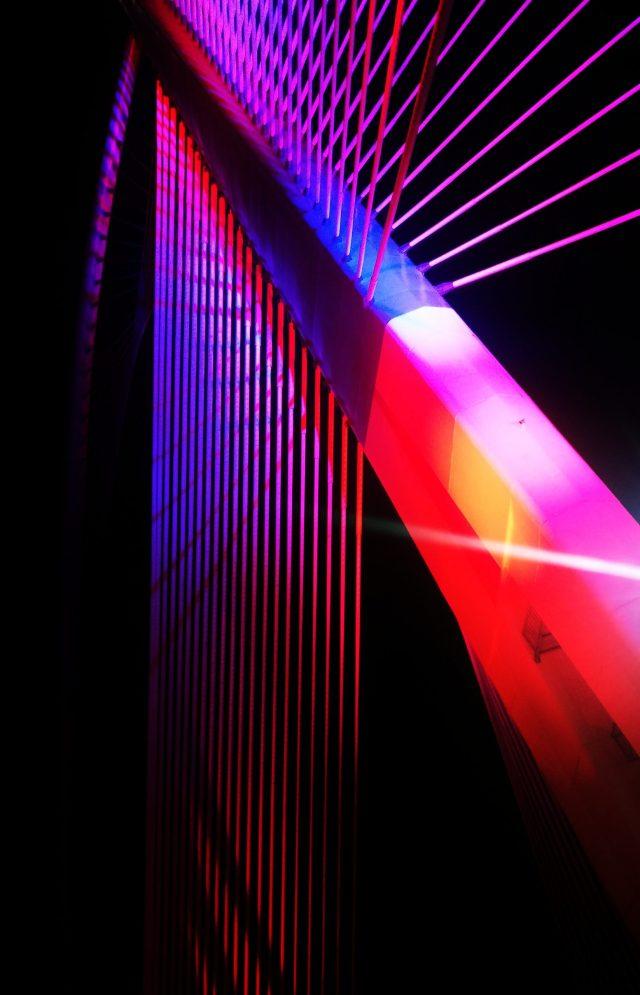 Putrajaya bridge structure