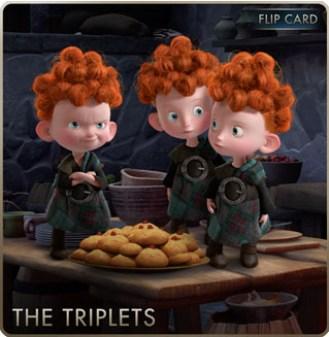 Brave Cards - Triplets