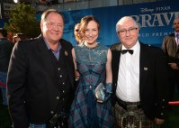 John Lasseter, Julie Fowlis, and Patrick Doyle