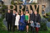 (L-R) Craig Ferguson, Kevin McKidd, Kelly Macdonald, Brenda Chapman, Katherine Sarafian, Mark Andrews, and John Lasseter