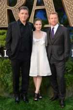 (L-R) Craig Ferguson, Kelly Macdonald, and Kevin McKidd
