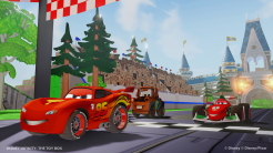 Disney Infinity Cars in Toy Box - Image 1