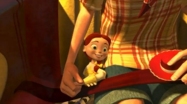 Image result for when somebody loved me scene in toy story 2