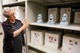 Lead Archivist and Pixar Historian Christine Freeman at Incredibles 2 Long Lead Press day, as seen on April 5, 2018 at Pixar Animation Studios in Emeryville, Calif. (Photo by Marc Flores)