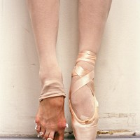 A Ballet Dancer's Feet