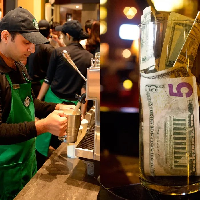Breaking Down the Starbucks Tip Jar Case Who gets a cut